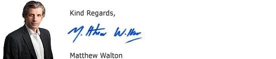 Matthew Walton signature